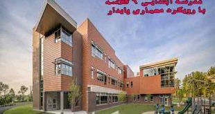 پایان نامه ارشد معماری طراحی مدرسه ابتدایی 6 کلاسه با رویکرد معماری پایدار