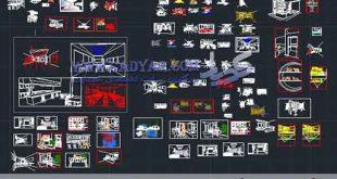 80 مورد پرسپکتیو داخلی اتوکدی_(2004 dwg)