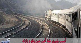 برسی آسیب پذیری خط آهن حین وقوع زلزله و ارائه راهکارهای کاهش خسارات (16 اسلاید)